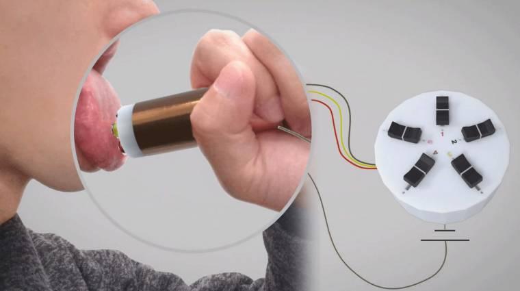 Itt a jövő fogyókúrája, a nyalogatható kütyü kép