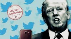 Egy Twitter fiók frappáns görbe tükröt tartott Donald Trump elé kép
