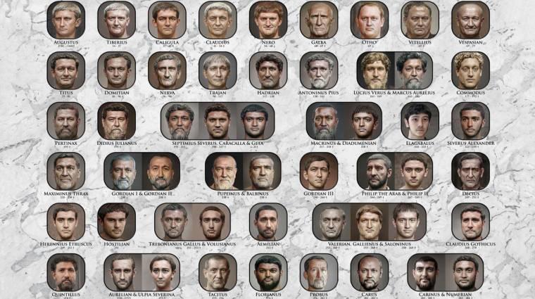 Hogyan lehet a római császárok szobraiból megtudni, hogyan is néztek ki valójában? kép