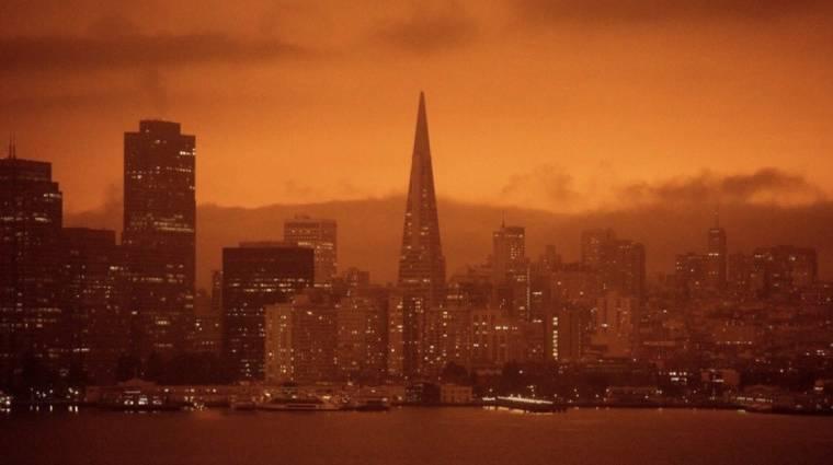 Ez nem egy posztapokaliptikus film, tényleg így néz ki az Egyesült Államok nyugati partja kép