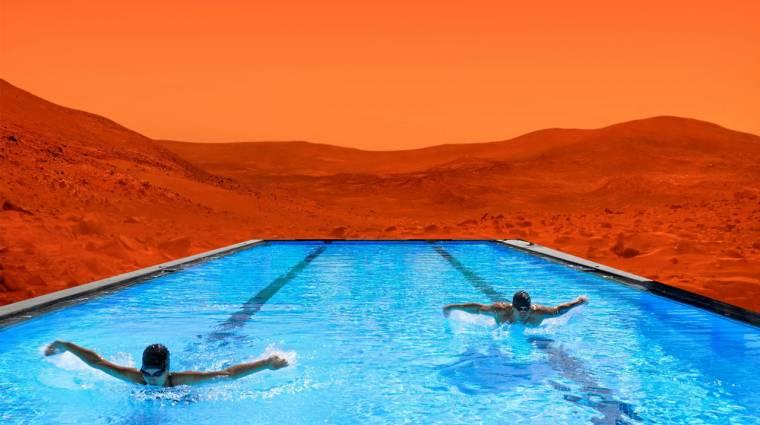 Felszín alatti tavakat találtak a Marson kép