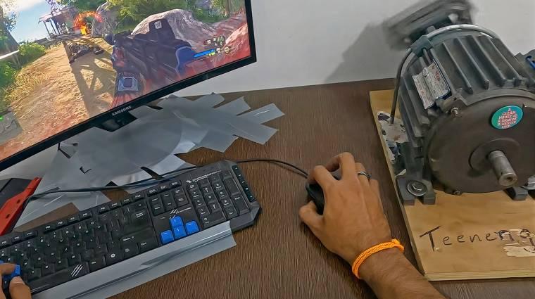 Ha igazán hardcore játékélményre vágysz, köss rá egy indukciós motort a kontrolleredre kép