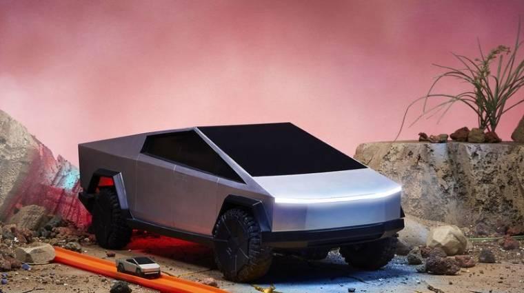 Legszívesebben már most elvinnénk egy körre a távirányítós Tesla Cybertruckot bevezetőkép