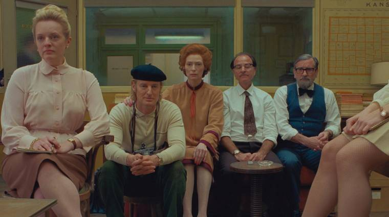 Őrült előzetest kapott Wes Anderson új filmje, a The French Dispatch kép