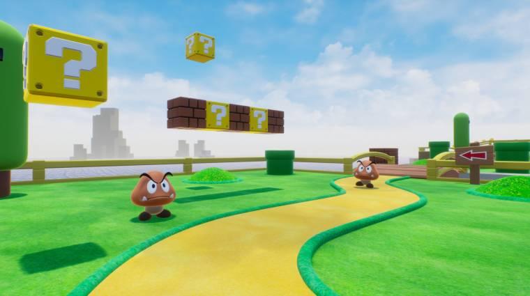 Majdnem kész a Super Mario FPS, a Nintendónak egy szót se! bevezetőkép