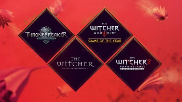 Witcher-lootot osztogat ajándékba a CD Projekt bevezetőkép