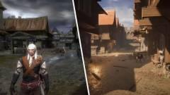 Rajongói remake-ben éled újjá az első The Witcher játék kép
