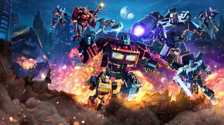 Új Transformers animációs sorozat érkezik a Nickelodeonra bevezetőkép