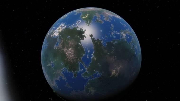 Föld-szerű bolygót találtak a közelünkben kép