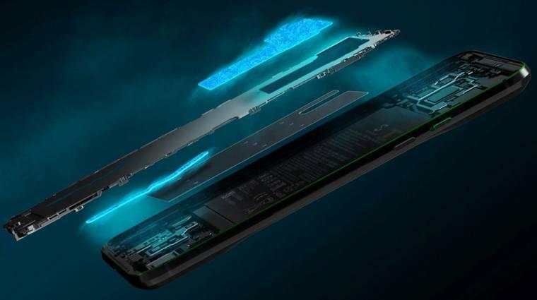 Ultra-érzékeny kijelzővel támad a Xiaomi Black Shark 3 kép