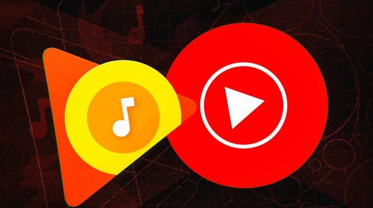 Lehúzza a rolót a Google Play Zene kép
