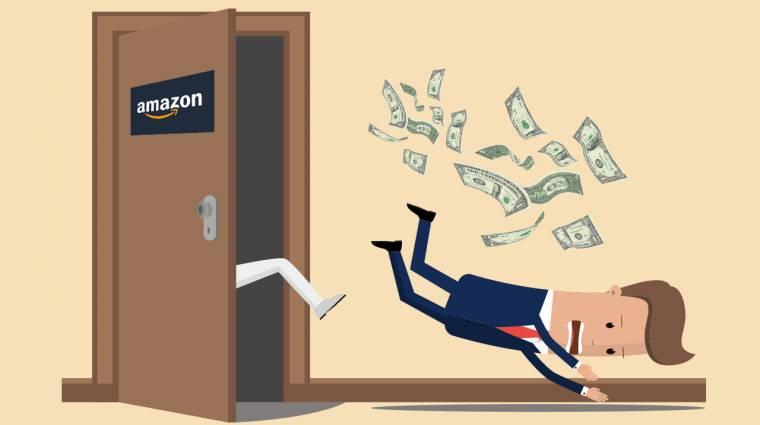 Az Amazon kirúgott közel 4000 trükköző eladót kép