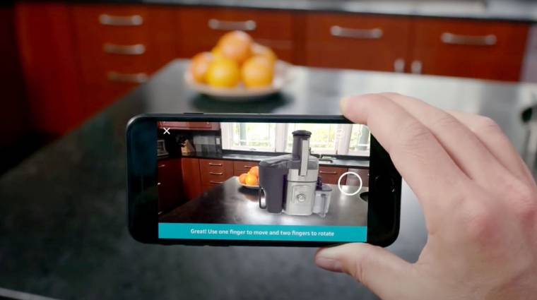 Bútorozd be virtuálisan a lakásod az Amazon mobilappjával kép