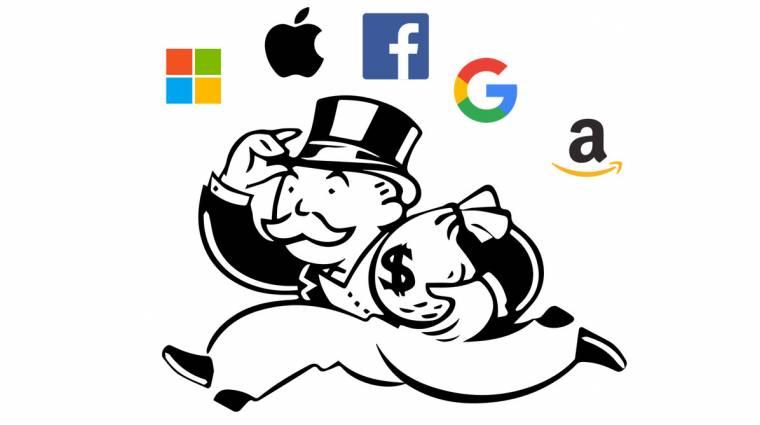 Az amerikai kongresszus felrúgná a Facebook, az Amazon, a Google és az Apple monopóliumát kép