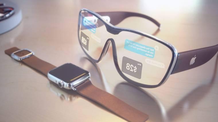 Moduláris okosszemüvegben gondolkozhat az Apple kép