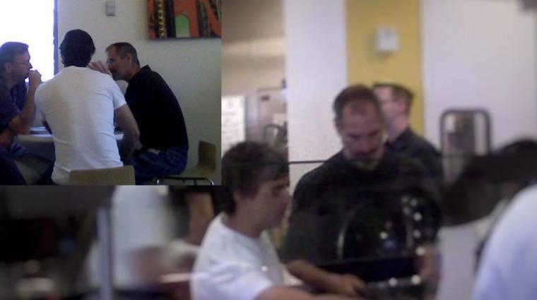 Az a vicc megvan, hogy az Apple és a Google vezetői közösen ebédelnek? kép