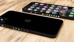 Itt egy vad elképzelés az oldalt is kijelzőbe burkolt iPhone 13-ról kép