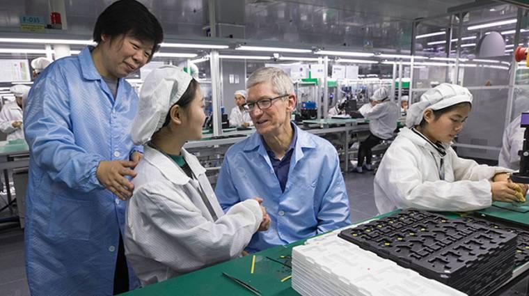 Vietnámba költözhet az iPhone-gyártás, ha javulnak a dolgozók munkakörülményei kép