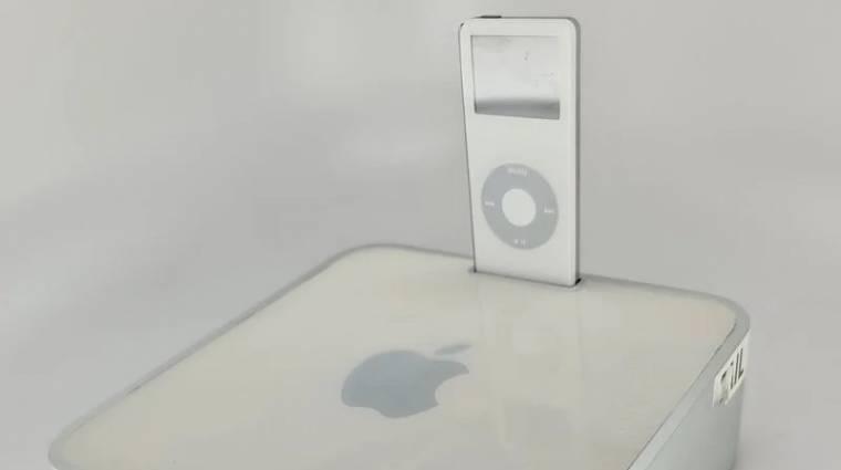 Egy iPod-dokkolós Mac minit is csinált egyszer az Apple kép