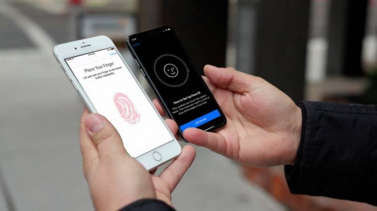 Az Apple-nél is érik a kijelző alá épített ujjlenyomat-olvasó kép