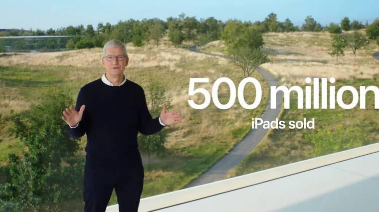 Több mint 500 millió iPadet adott el az Apple az elmúlt 10 év alatt kép
