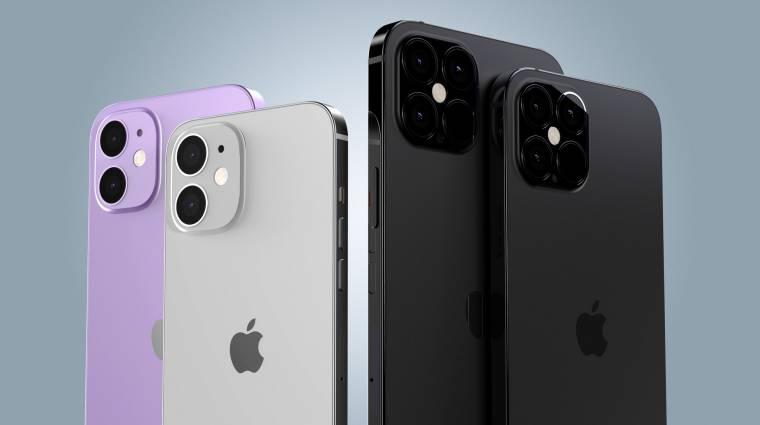 Szinte minden kiderült az Apple iPhone 12 mobilokról kép