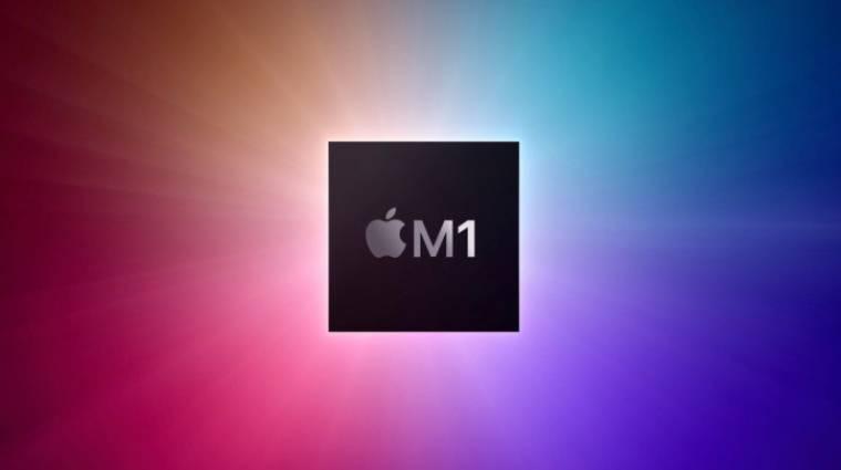Remek teljesítményt ígér az Apple M1 processzora kép