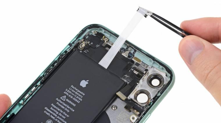 Egy vagyont fizet az Apple a régebbi iPhone-ok lassítása miatt kép