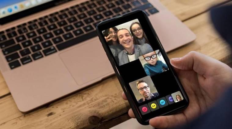 Az iOS 14.2 már az 1080p-s FaceTime HD-hívásokat is támogatja kép