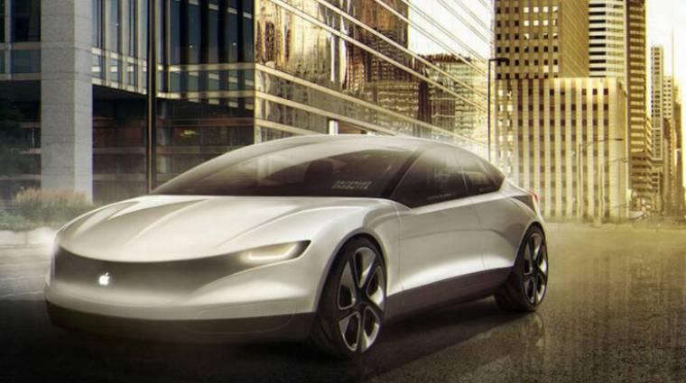 Már 2021-ben megérkezhet az Apple saját autója kép