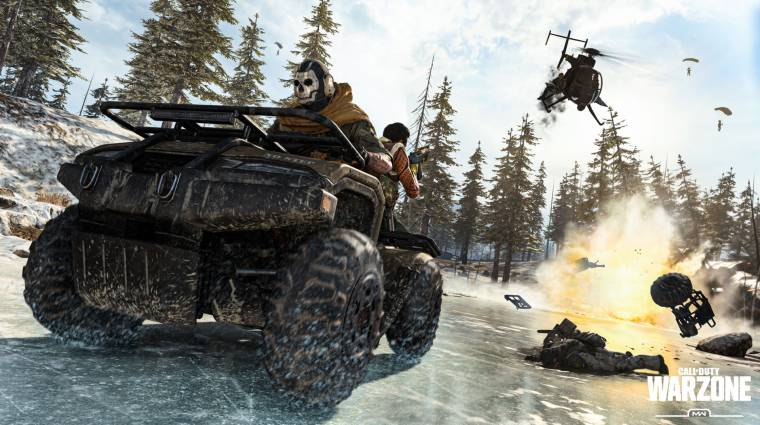 Kiszedték a Call of Duty: Warzone-ból a járgányokat egy bug miatt bevezetőkép
