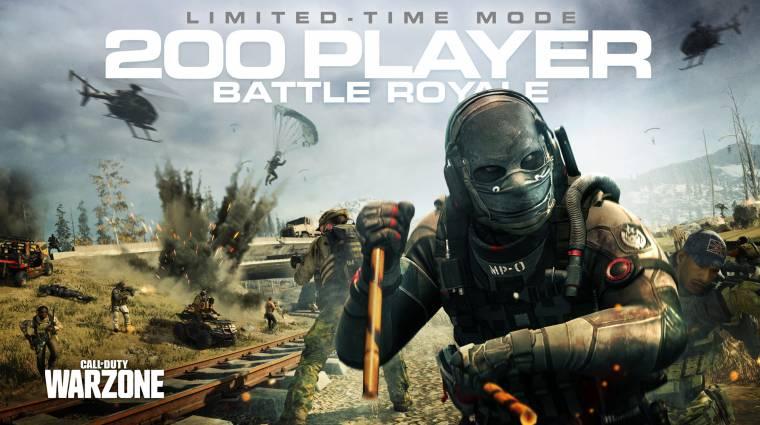 Holnap reggel jön Call Of Duty: Warzone 200 fős játékmódja, méretes letöltésre számíthatunk bevezetőkép