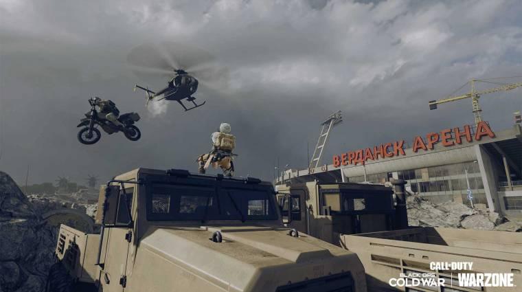 Probléma adódott a Call of Duty: Warzone páncélosával, ki is került a játékból bevezetőkép