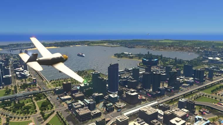 Pár napig kipróbálható a Cities: Skylines ingyen, érkezett egy friss DLC is bevezetőkép
