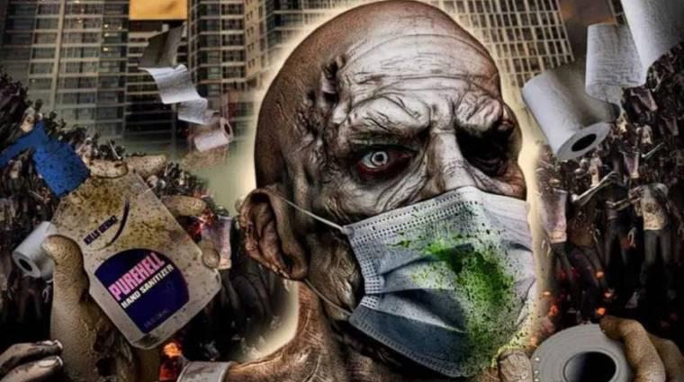 Szájmaszkos zombikkal érkezik az első koronavírus által inspirált film kép