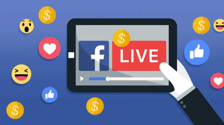 Jöhetnek a fizetős élő adások Facebookon kép