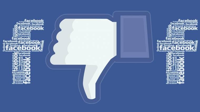 A Facebook részben eltüntetheti a like gombot kép