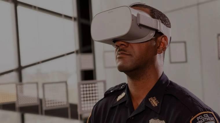 Kiképzésre használja a rendőrség az Oculus VR-headseteket kép