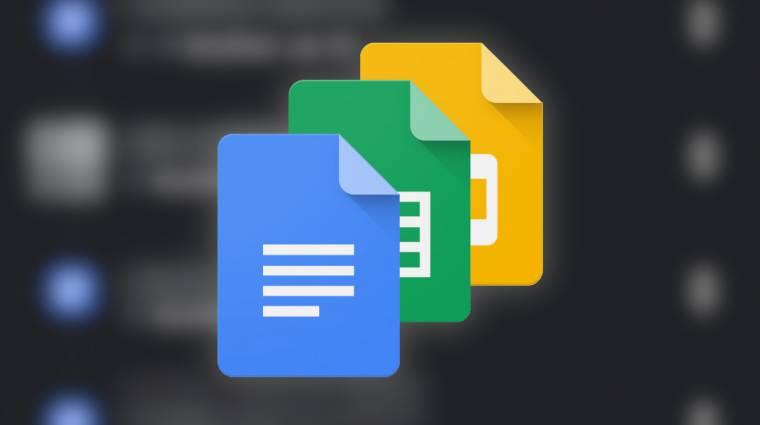 Végre sötét módot kapnak a Google androidos dokumentumkezelői kép