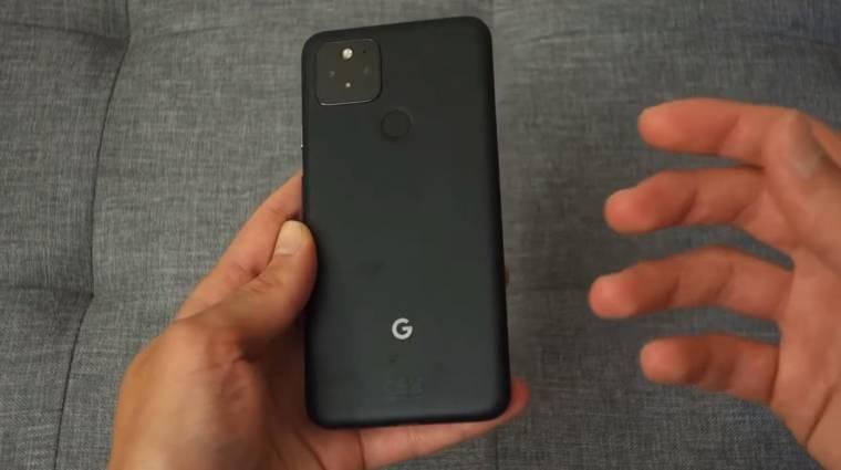 Valaki már ki is próbálta a Google Pixel 5-öt kép