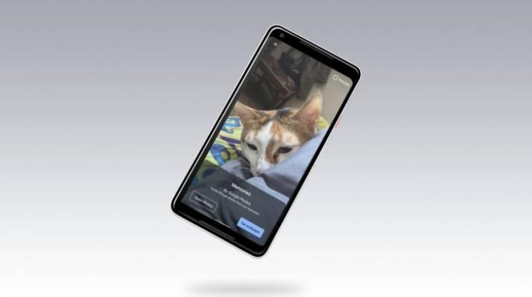 Dinamikus hátteret csinál fotóinkból az androidos Google Fotók kép