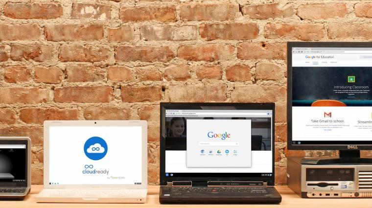 A Google át akarja alakítani régi PC-inket az új cégével kép