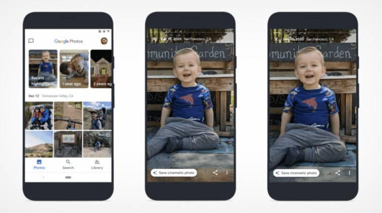 3D-s képeket csinál a fotóidból a Google kép