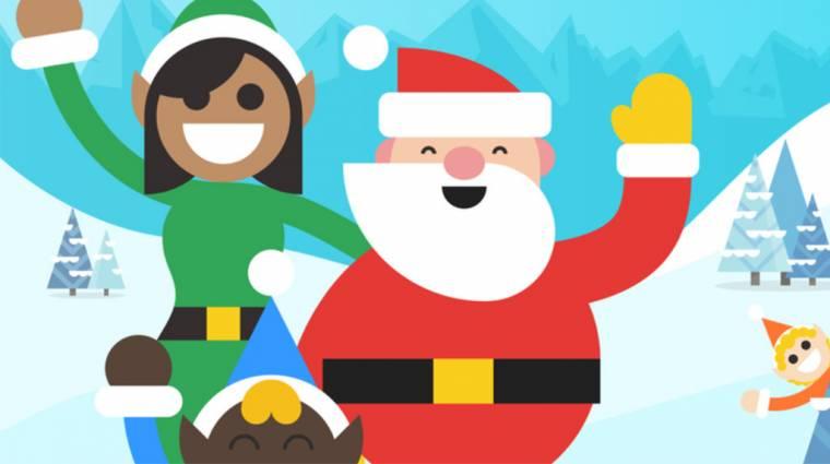 Így ünnepli a Google a karácsonyt: Mikuláskövető és rengeteg játék kép