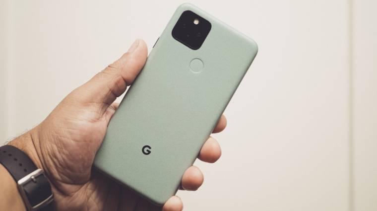 Fontos frissítést kaptak a Google Pixel 5 mobilok kép