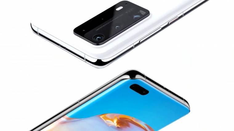 Megérkezett a Huawei P40, P40 Pro és P40 Pro+ kép