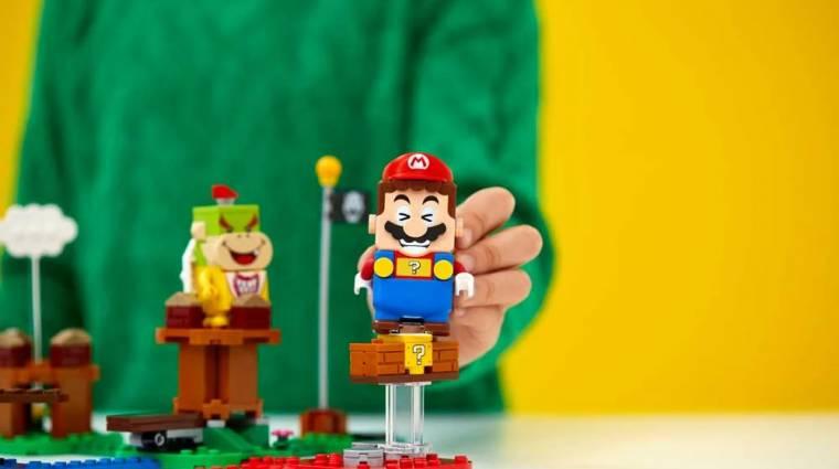 Mélyen a zsebünkbe kell nyúlni a LEGO Super Mario készletért, kiderült, mikor érkezik bevezetőkép