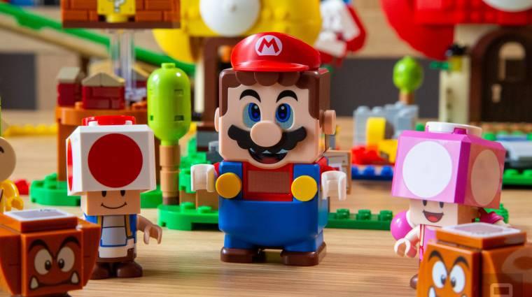 Valaki a LEGO Marióból csinált kontrollert bevezetőkép