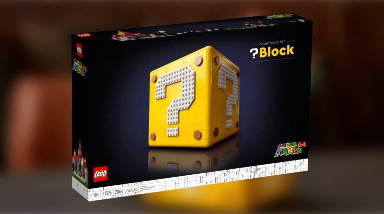 A LEGO Super Mario 64 kocka sokkal többet rejt, mint elsőre gondolnád bevezetőkép