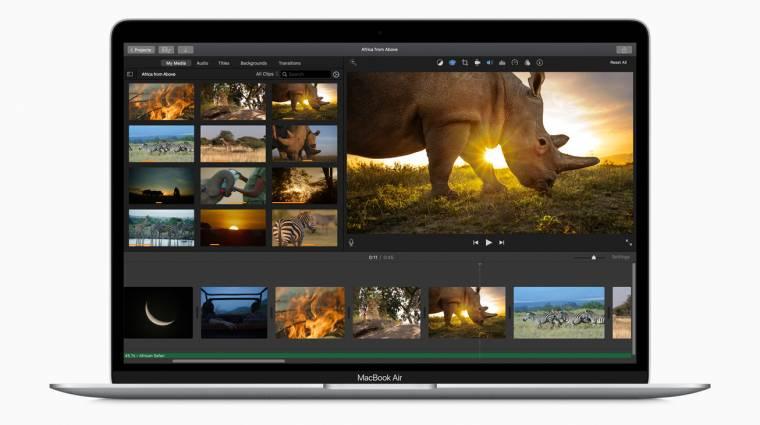Már jövőre jöhet a mini LED-es MacBook Air kép